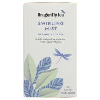 Dragonfly Organic Swirling Mist White Tea 4 x 20 Bags